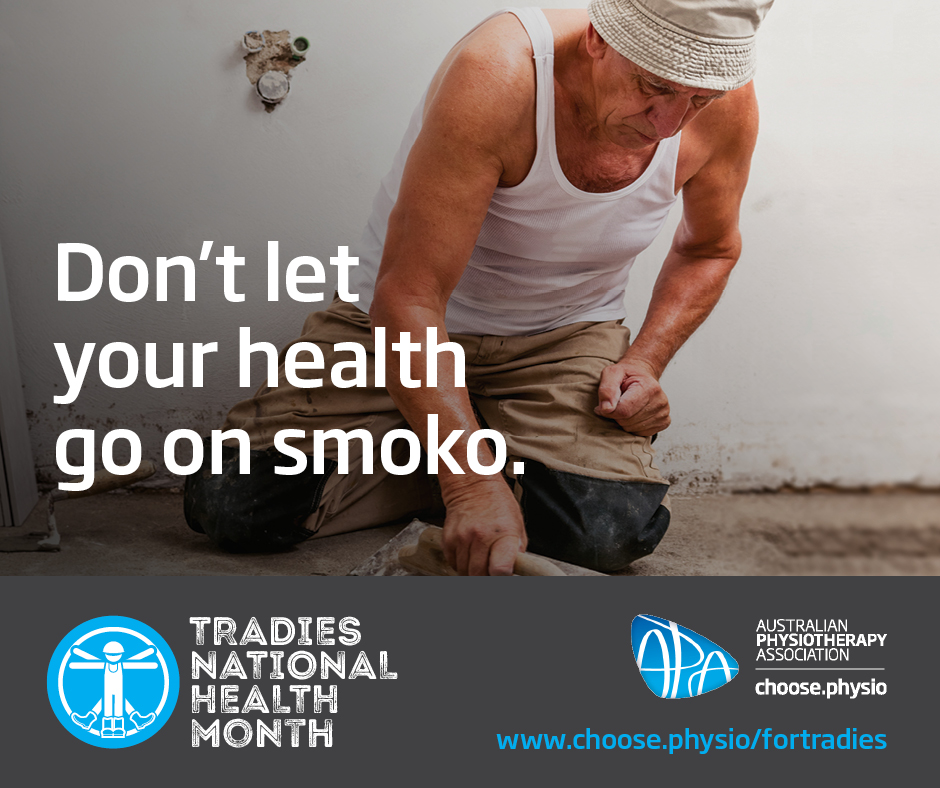 Facebook Instagram Don't let your health go on smoko